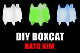 DIY BOXCAT Vinyl Toy